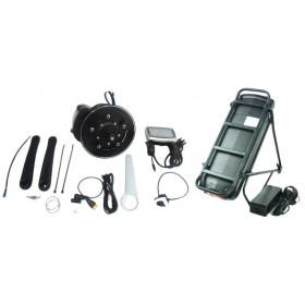 Moteur pédalier TSDZ2 et batterie porte bagage