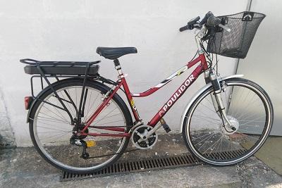 Poulidor - Kit City Plus - Batterie porte bagage