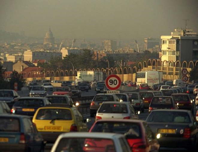 La pollution de l'air en France, et dans le monde